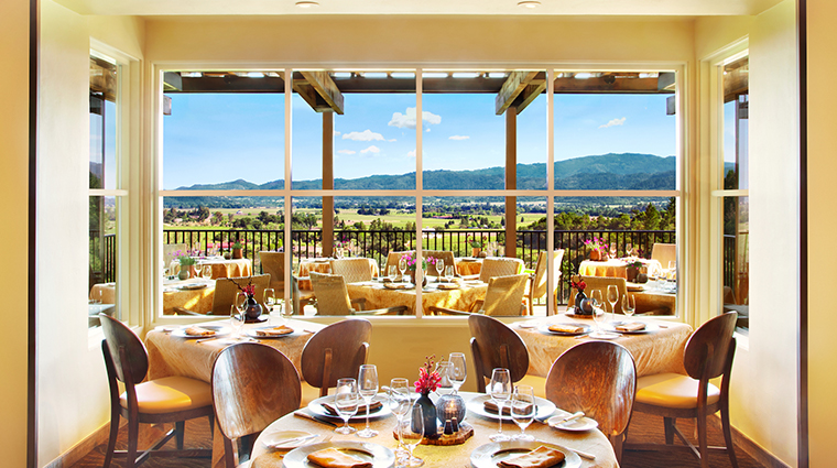 Auberge Du Soleil Restaurant Napa Restaurants Rutherford United States Forbes Travel Guide