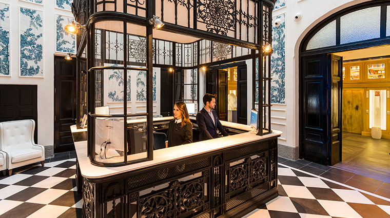 Only You Boutique Hotel Madrid Reception