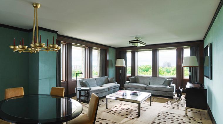45 park lane Curzon Suite living room