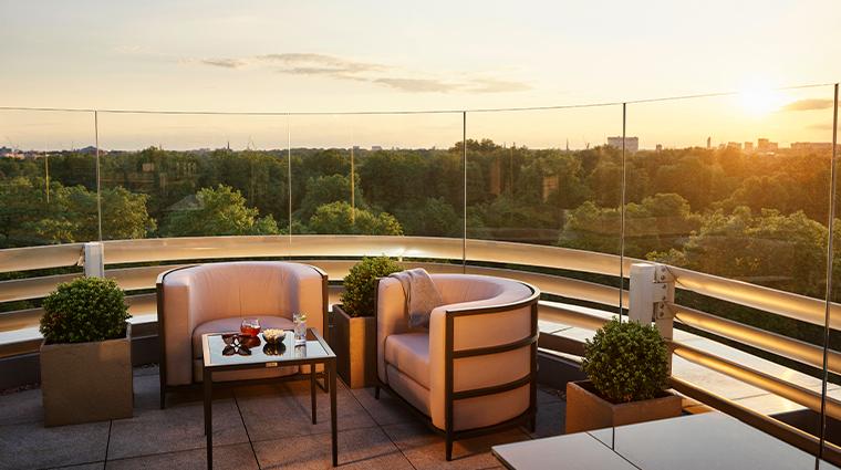 45 park lane Penthouse Suite Terrace