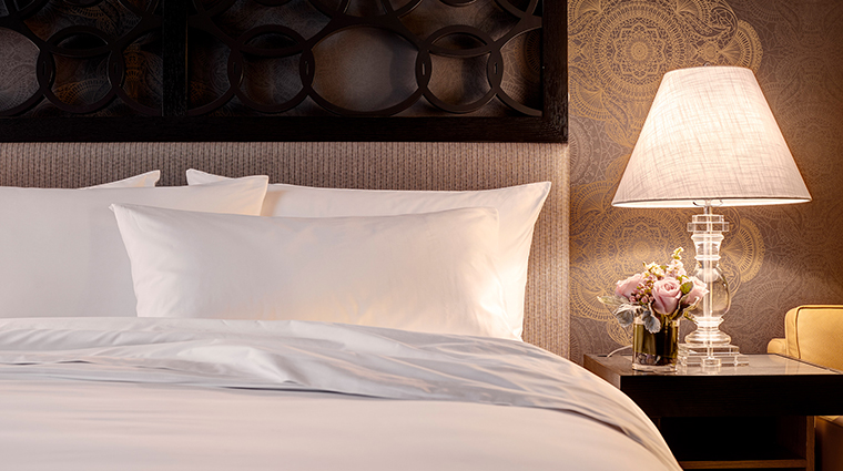 Archer Hotel Napa deluxe king guestroom turndown