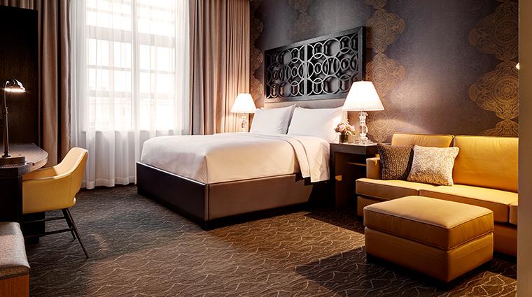 Archer Hotel Napa deluxe king guestroom