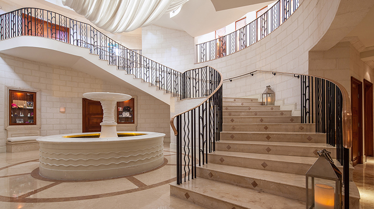 Barbados Spa staircase