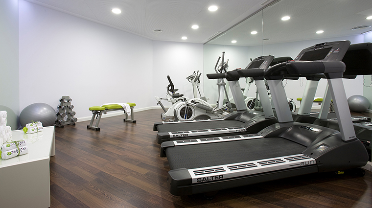 El palace barcelona Mayan fitness center
