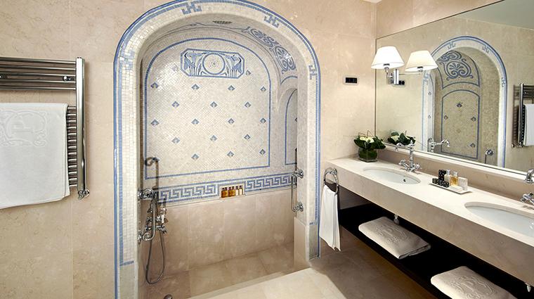 El palace barcelona Roman bath