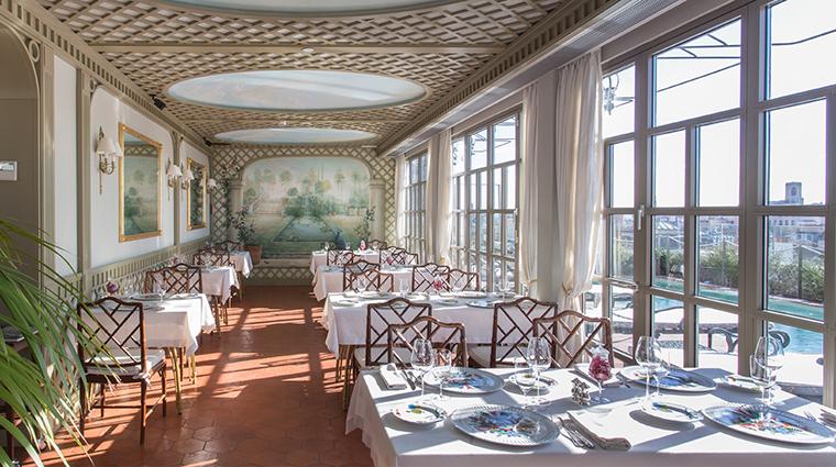 El palace barcelona Winter Garden restaurant