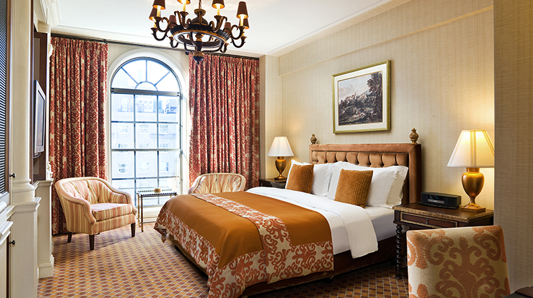 FTG Hotel StRegisWashingtonDC GuestroomandSuites DeluxKing CreditStarwood Hotels & Resorts Worldwide Inc