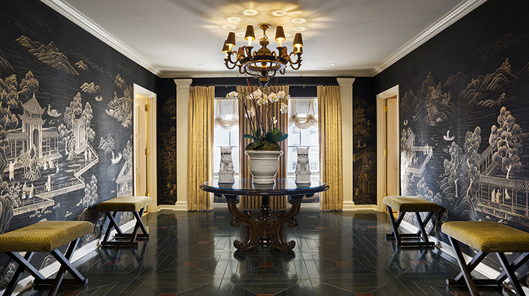 FTG Hotel StRegisWashingtonDC GuestroomandSuites Presidential Suite Foyer CreditStarwood Hotels & Resorts Worldwide Inc