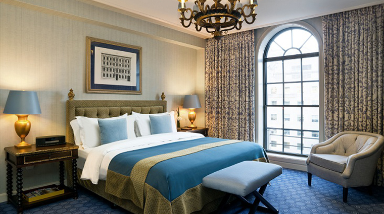 FTG Hotel StRegisWashingtonDC GuestroomandSuites St Regis Suite Bedroom CreditStarwood Hotels & Resorts Worldwide Inc