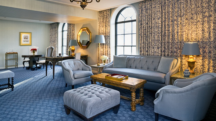 FTG Hotel StRegisWashingtonDC GuestroomandSuites St Regis Suite Parlor CreditStarwood Hotels & Resorts Worldwide Inc