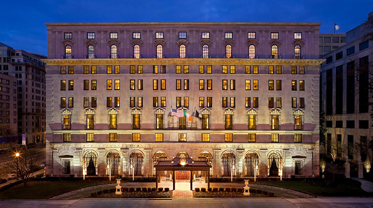 FTG Hotel StRegisWashingtonDC PublicSpaces Exterior CreditStarwood Hotels & Resorts Worldwide Inc