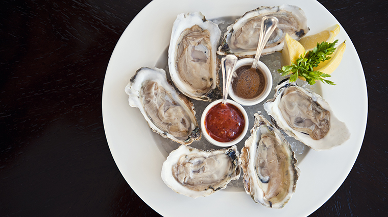 FTG Restaurant Lemaire  Oysters on the Half Shell CreditTheJeffersonHotel