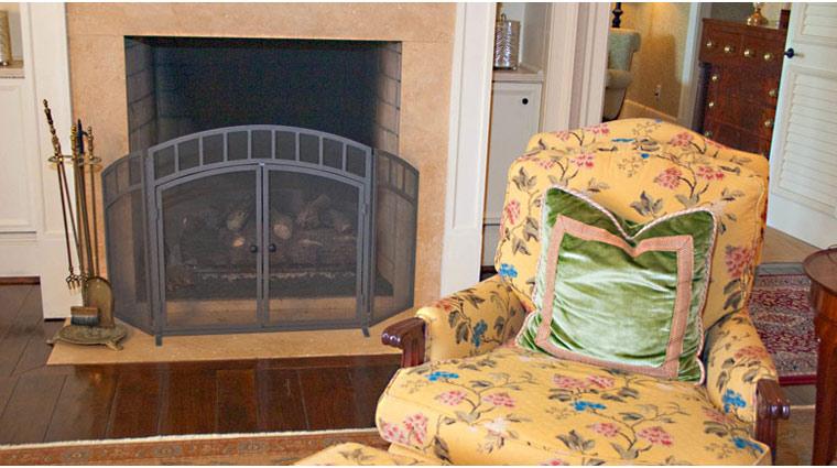 FTG Kiawah Guestroom FireplaceCloseUp