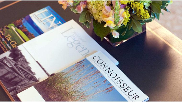 FTG Kiawah Guestroom Magazines