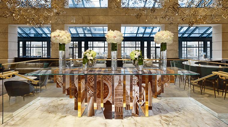 Fairmont WashingtonDC Georgetown Lobby