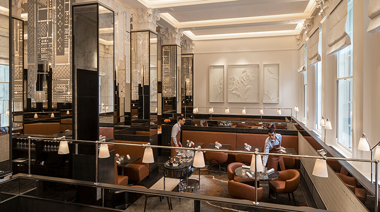 Four Seasons Hotel London at Ten Trinity Square restaurant