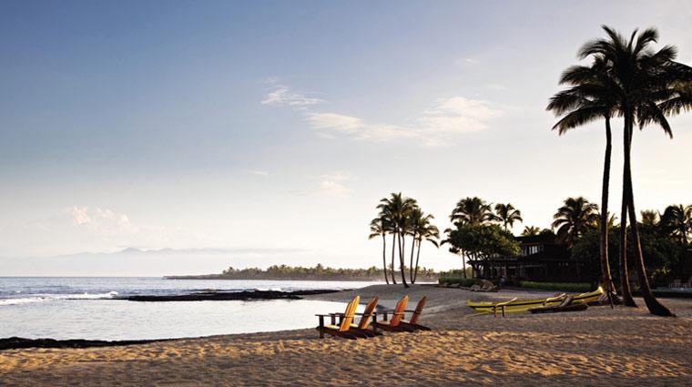 FourSeasonsHualalai Hotel Beach 1 CreditFourSeasons
