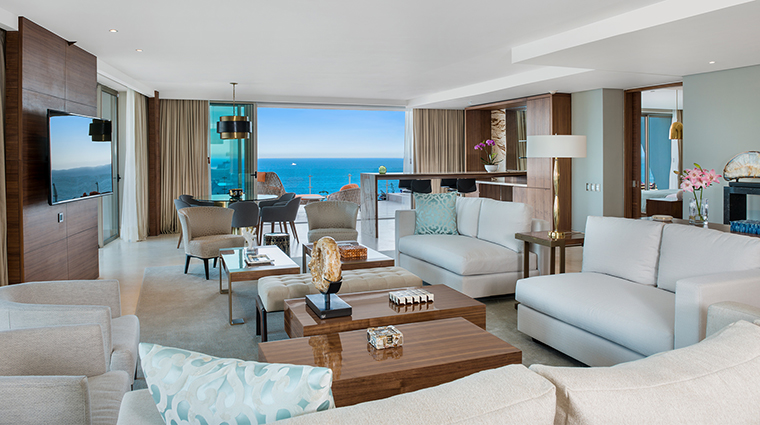 Grand Velas Los Cabos living area
