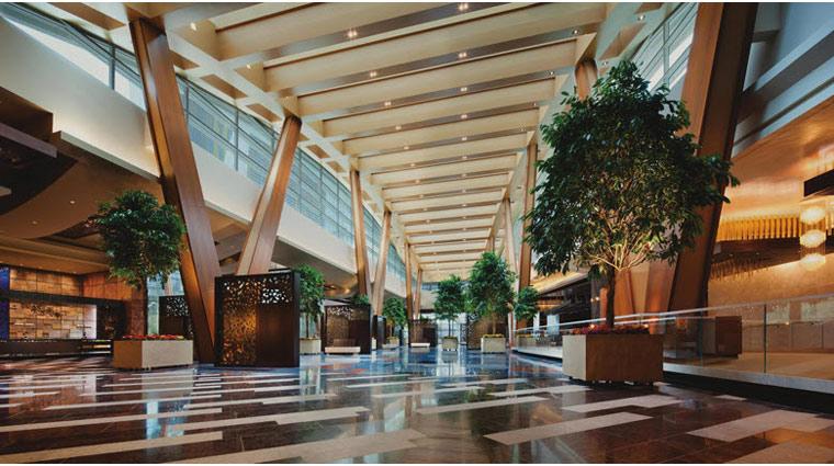Image AriaResortandCasino LasVegas Hotel Lobby  PR