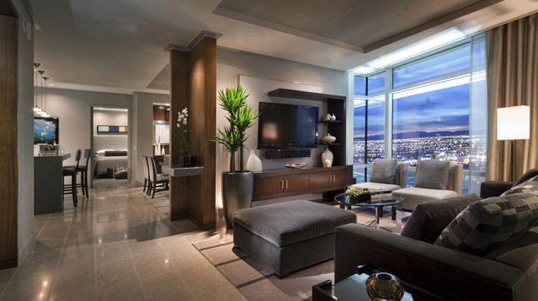 Image AriaSkySuites LasVegas Hotel TwoBedroomSuite PR