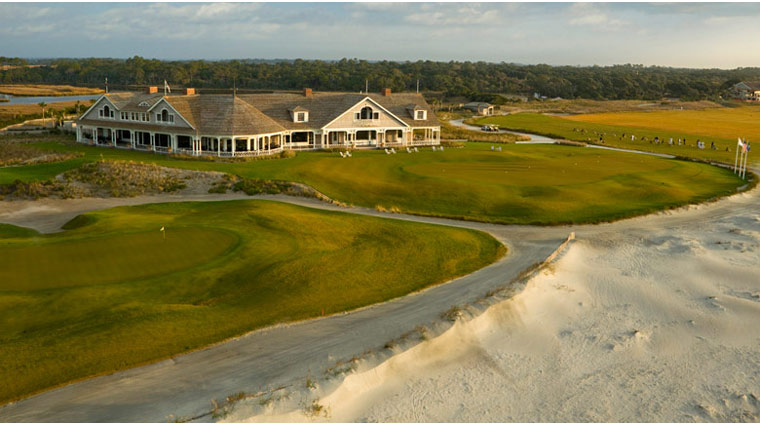 Kiawah TheOceanCourse Clubhouse Aerial