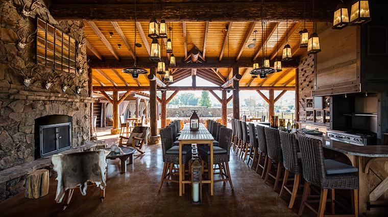 Magee Homestead Cowboy Tiki Bar