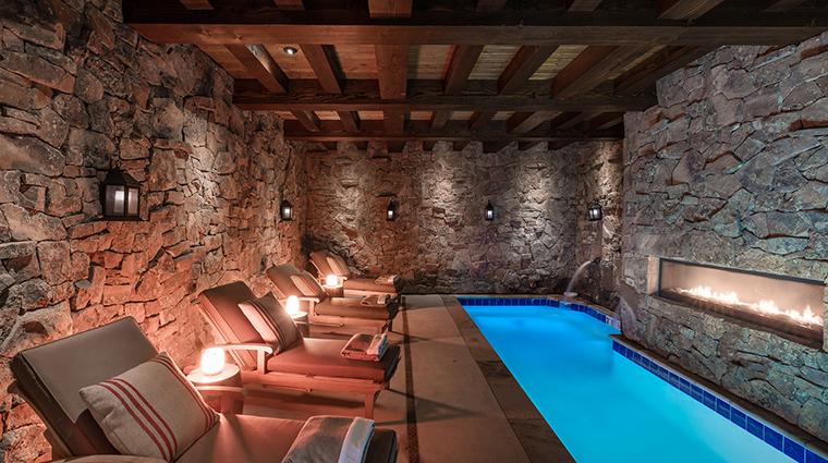 Magee Homestead wellness grotto soaking pool