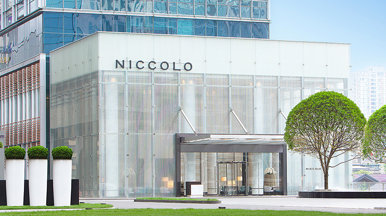 Niccolo Chengdu Entrance
