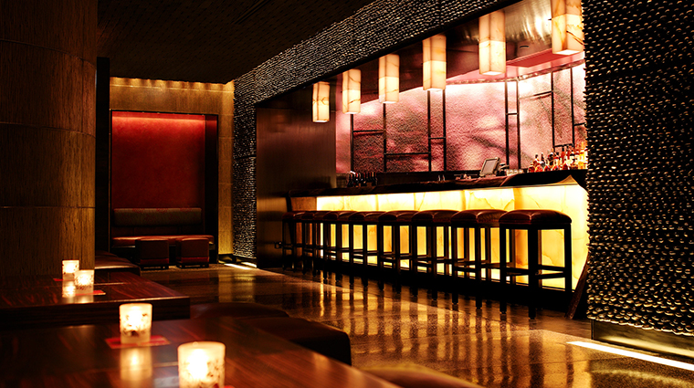 Nobu Intercontinental bar angle