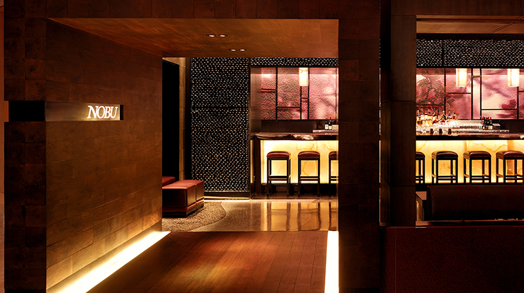 Nobu Intercontinental entrance