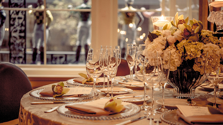 Property 21Club Restaurant Dining TableSetting BelmondManagementLimited