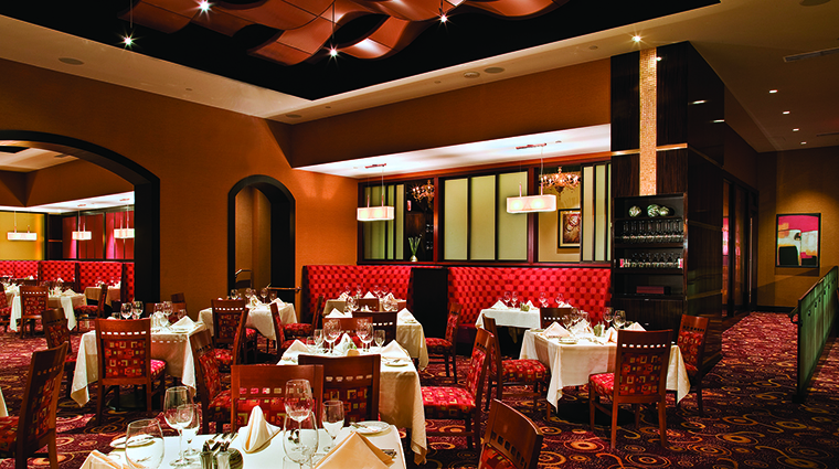 Property AguaCalienteCasinoResortSpa Hotel Dining TheSteakhouseDiningRoom AguaCalienteCasinoResortSpa