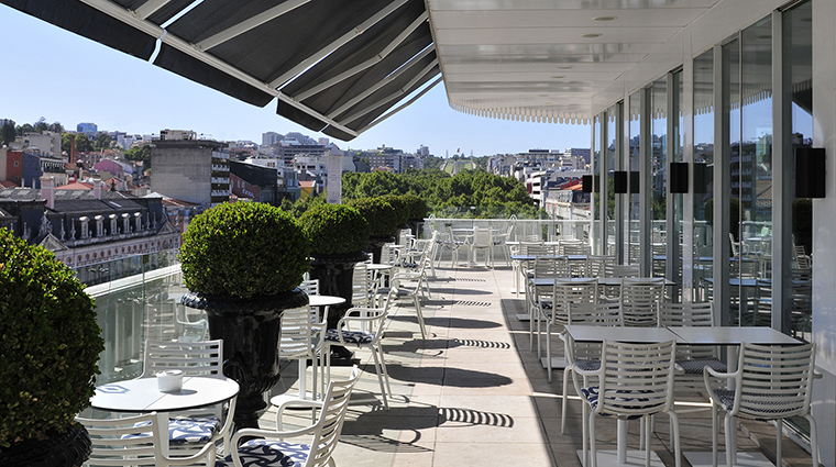 Property AltisAvenidaHotel Hotel Dining RossioRestaurantTerrace AltisHotelsGroup