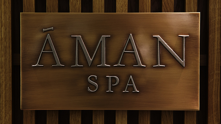 Property AmanSpaattheConnaught Spa SpaSignage MaybourneHotelGroup