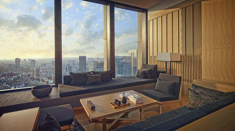 Property AmanTokyo Hotel GuestroomSuite PremierRoomLivingArea AmanResorts