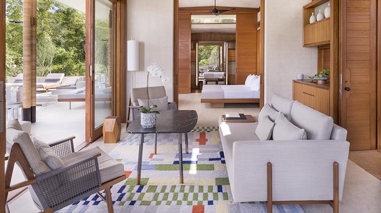 Property Amanera Hotel GuestroomSuite CasitaLivingArea&Bedroom AmanResorts