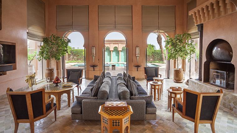 Property Amanjena Hotel GuestroomSuite AlHamraLivingArea AmanResorts