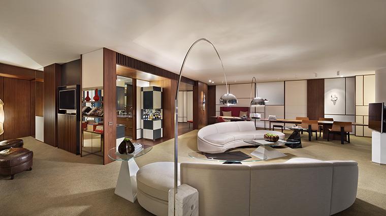 Property AndazTokyoToranomonHills Hotel GuestroomSuite AndazSkySuiteLivingArea HyattCorporation