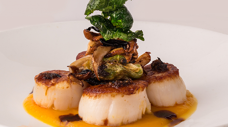 Property AquaKnox Restaurant Dining Scallops TavistockRestaurantsLLC