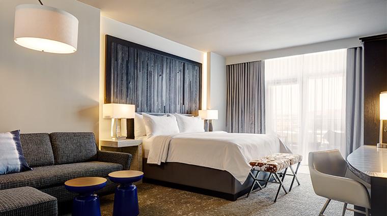 Property ArcherHotelAustin Hotel GuestroomSuite KingBalconySuite LodgeworksPartners