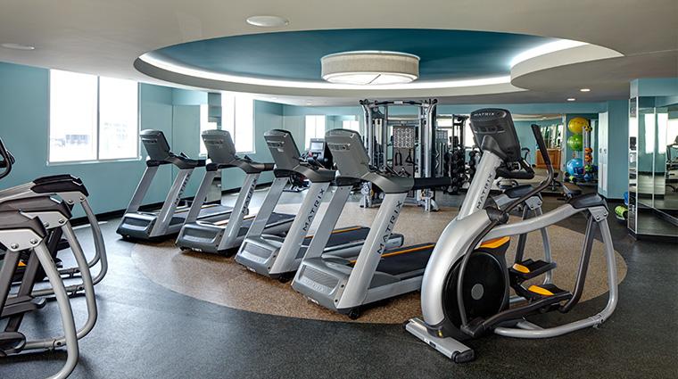 Property ArcherHotelAustin Hotel PublicSpaces FitnessStudio LodgeworksPartners