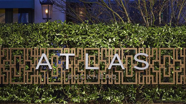 Property AtlasBuckhead Restaurant Dining ExteriorSignage AtlasRestaurant