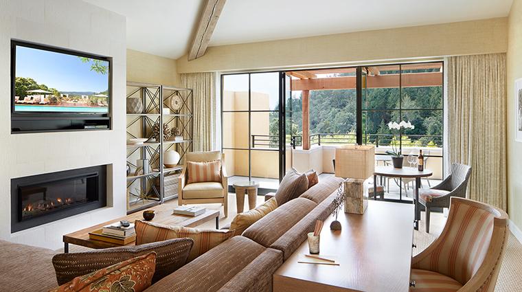 Property AubergeduSoleil Hotel GuestroomSuite SuiteLivingRoom AubergeduSoleil