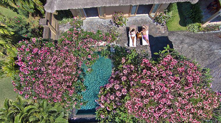 Property AyanaResort&Spa Hotel GuestroomSuite OceanViewVillaAerialViewofPool AyanaResort&Spa