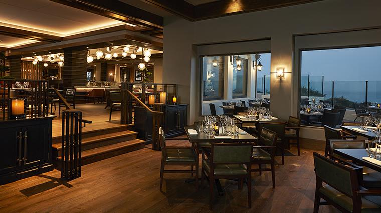 Property BacaraResort&Spa Hotel Dining AngelOakLowerDiningArea PacificHospitalityGroup