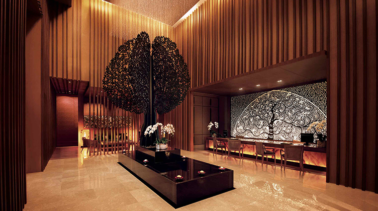 Property BanyanTreeSpaMarinaBaySands Spa Lobby MarinaBaySands