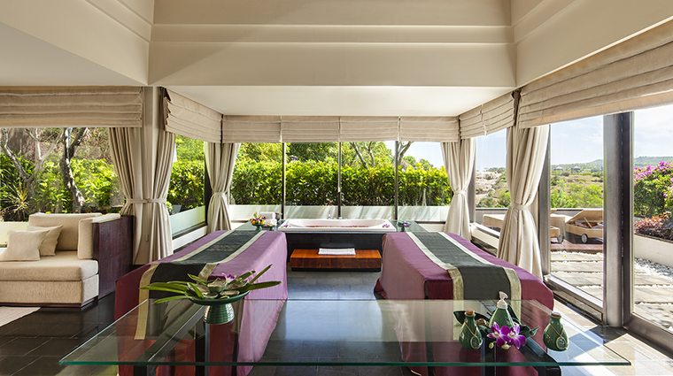 Property BanyanTreeSpaUngasan Spa TreatmentRoom BanyanTreeHotels&Resorts