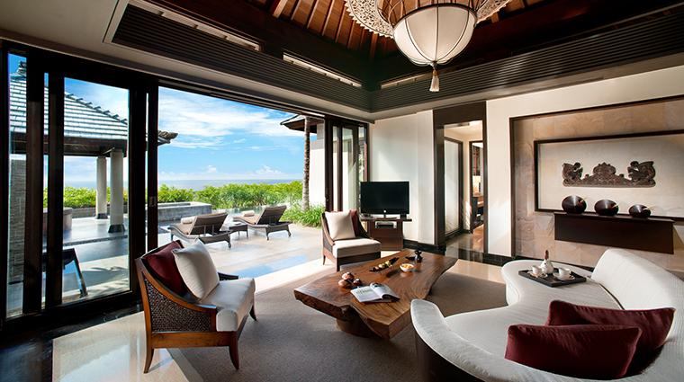 Property BanyanTreeUngasanBali Hotel GuestroomSuite PoolVillaSeaViewLivingRoom BanyanTreeHotels&Resorts