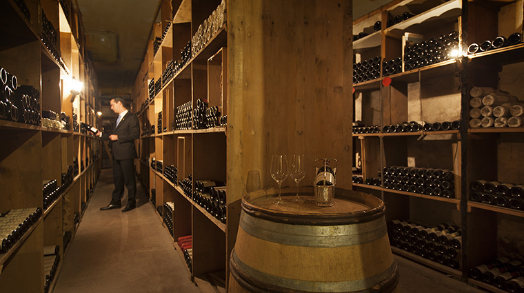 Property BeauRivage Hotel Dining WineCellar HotelBeauRivage