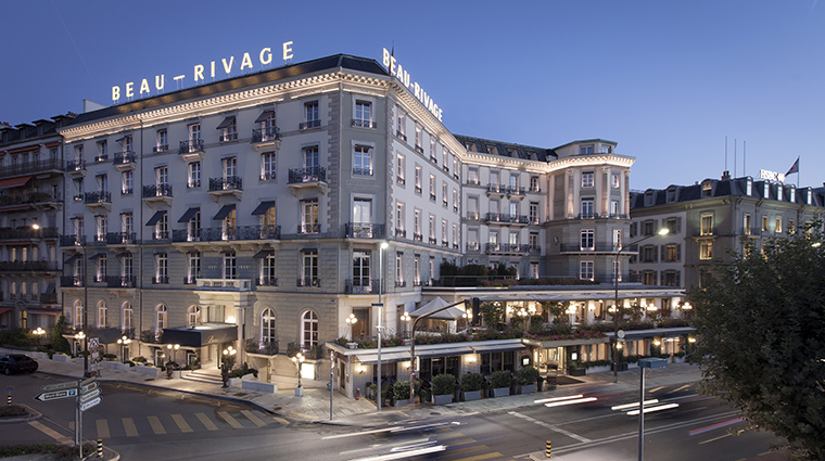 Property BeauRivage Hotel Exterior ExteriorFacade HotelBeauRivage